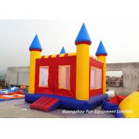 Mini Inflatable Jump House Baby Bouncy Castle For Outdoor / Indoor Games