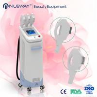 China The most professional three mutifunctional handles ipl laser hair removal machine price on sale