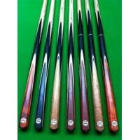 F1S1/ F1S2 One-pc rosewood, huang ying wood Snooker cue stick 17.5-18 oz / 145 cm
