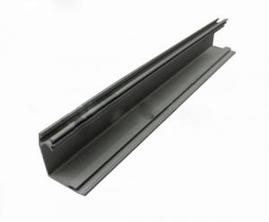 China Powder Coated Aluminium Door Profiles Green / Grey For Decorations Accessories on sale