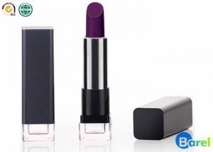 China Moisturizing Long Wearing Lipsticks Silkscreen / Dark Purple Cosmetics Lipstick on sale