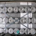 Hexagonal Hole Gabion Stone Cages Galvanised Wire Roll Silver Color 2 X 1 X 1m