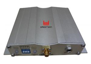 China Silver Car Mobile Signal Repeater Dual Band GSM Repeater Weatherproof supplier