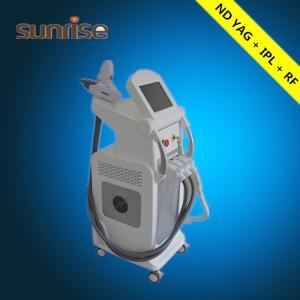 China Hot sale!!! 3 In 1 Multifunctional Elight Ipl Rf Laser Nd Yag on sale