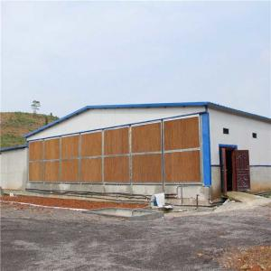 China Thick Evaporative Cooling Pad , Automatic Environment Control Poultry Shed on sale