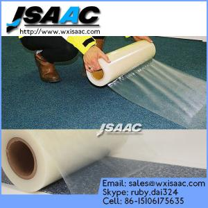China PE Adhesive Surface Protective Film For Carpet on sale