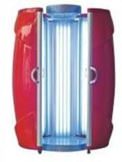 China 9.5kw Red 9 minute SunVision Tanning Bed Machine high pressure on sale