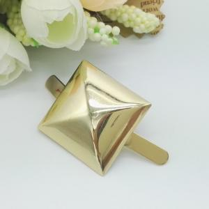 China Professional Gold Plating Metal Bag Tags For Metal Purse Hardware Accessories on sale