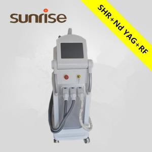 China Multifunction tattoo removal e-light ( rf + ipl ) skin tag removal machine on sale