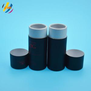 China Gold Foil Airtight Cosmetic Kraft Cylinder Packaging on sale