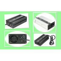 China Four Steps Intelligent Charging Electric Bike Charger With Small Aluminum Housing on sale