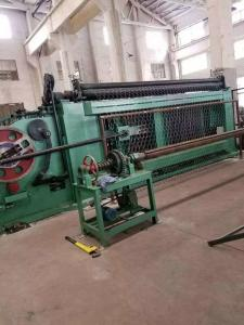 China Mitsubishi PLC  Automatic Gabion Mesh Machine / Production Line For Seawall Entrench on sale