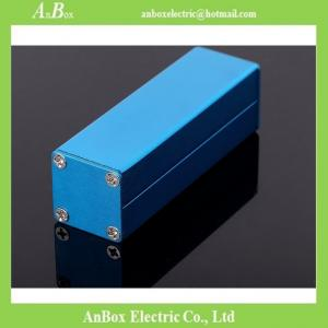 China 80X25X25mm 6063 t5 extruded aluminum enclosure wholesale and retail on sale