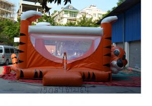 China Luxury Playhouse Inflatable Toy Custom Inflatable Products 6 X 6 X 4M on sale