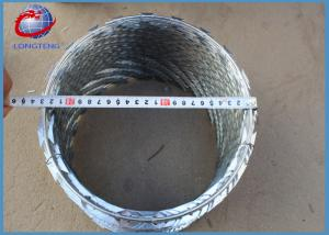 China Security Barbed Wire Fencing / Safety RazorCombatWire High Protection on sale