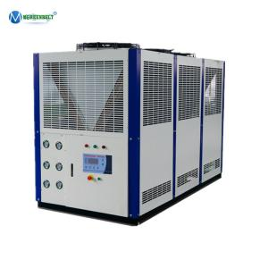 China Heat Exchanger Plate Built In Low Temp Fluid Chiller 30hp 16Tons Glycol Chiller Beer Line on sale