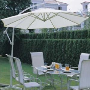 China Modern Alu Hanging Garden Parasol Umbrella For Outdoor Leisure Furniture on sale