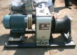 4 kilowatts extracteur 220V de treuil de câble de câble métallique de fil électrique de 5 tonnes pour la traction de câble