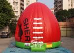 Red dome AFL Australian football kids jumping castle for outdoor parties N events