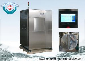 China Compact Autoclave Sterilizer Machine With Angle Seat Valve Or Ball Valve In Piping Line on sale