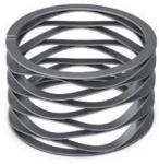 SUS304 SUS316 SUS631 Bearing Wave Springs Stainless Steel Wave Spring