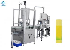 China High Speed Glue Stick Filling and Capping Machine with 4 Nozzles supplier