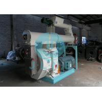 China 90kw Cattle Animal Feed Pellet Machine 400mm Ring Die 50HZ ISO Approved on sale