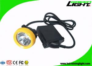 China Cree Source LED Mining Light IP68 10000lux 6.6Ah Battery With Silicon Button on sale