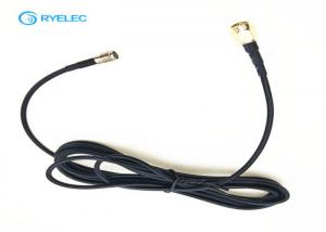 China Plate nickel sma male to sma female rg174 rf coaxial jumper cable assembly on sale