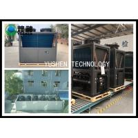 Stainless Steel Central Air Source Heat Pump For Hotel , School , Home