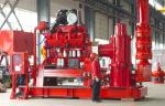 Carbon Steel UL Listed Fire Pumps / 500 Gpm Jockey Diesel Fire Fighting Pumps
