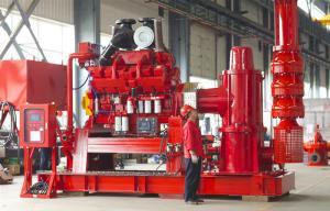 Carbon Steel UL Listed Fire Pumps / 500 Gpm Jockey Diesel