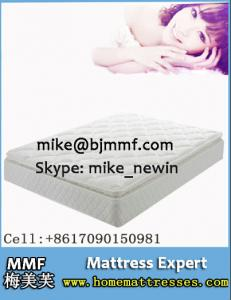 China Comfort bed mattress for hotel bedroom on sale