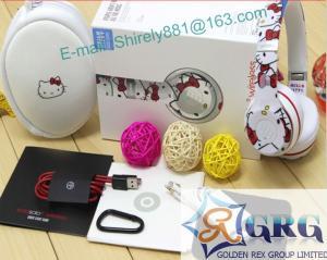 China new arrivel hello kitty beats solo2 headphone ,cheap price hello litty solo2 headphone +aaa quality on sale