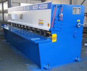 China 16mm Plate Hydraulic Power Shearing Machine Pendulum Shear With Electric Control on sale