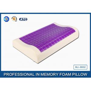 China L'oreiller visco-élastique de refroidissement de mousse de mémoire de découpe de gel de petite glace a couvert la taie d'oreiller en bambou on sale