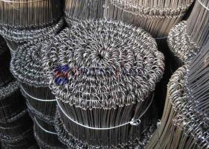 China Double Loop Metal Binding Wire 1000pcs-5000pcs Per Bundle 9cm-20cm Length on sale