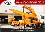 MQH37A 37 Ton Container Side Lifter Trailer Side Loader Truck Trailer  20ft 40ft