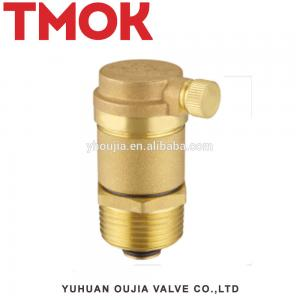 China 1/2'' Normally Closed Lead Free Micro Solenoid Brass Air Vent Valve on sale
