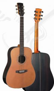 China 41inch OEM TOP Rosewood solidwood vintage cutaway electric acoustic guitar/western guitar steel string sale-TP-AG59 on sale