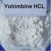 Natural Sexual Enhancer Yohimbine HCl Sex Drugs CAS 65-19-0 White Powder