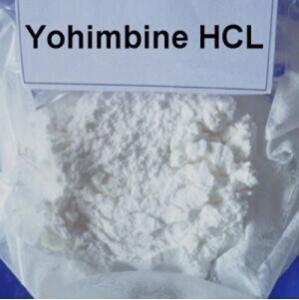 China Natural Sexual Enhancer Yohimbine HCl Sex Drugs CAS 65-19-0 White Powder on sale
