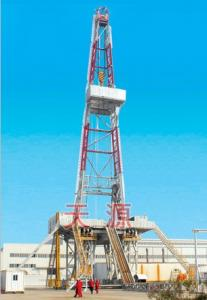 China 5000m Onshore Drilling Rig for Oil Well on sale