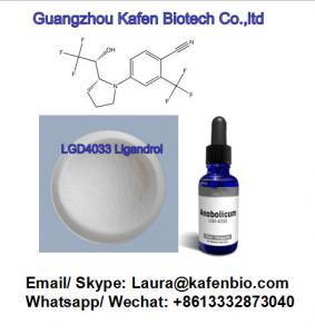 China Sarms Raw Powder Lgd-4033 Ligandrol for Bodybuilding and Muscles Gains on sale