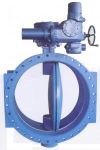 China Double Flanged Resilient Seated AWWA C 504 Butterfly Valves With Gear Box And Handwheel on sale
