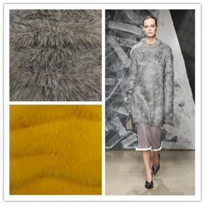 China Fancy soft richness eyelash fur knitting yarn for machine cone knitting on sale