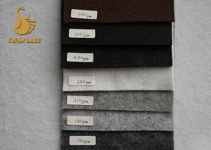 China Custom Needle Punched Felt Polyester Non-woven Carpet Base Cloth Fabric on sale