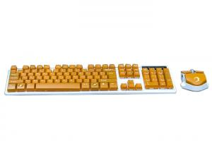 China Slim Type Computer Wireless Keyboard And Mouse For Gaming Low Power Battery on sale