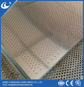 China Perforated metal mesh information galvanized HOT SHLE on sale