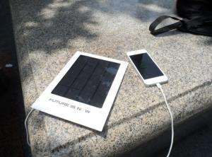 China 2014 NEW1000mAh Mini Portable Solar Panel Charger, PET laminate on sale